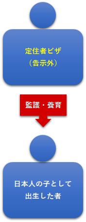 図13:監護・養育定住者ビザ