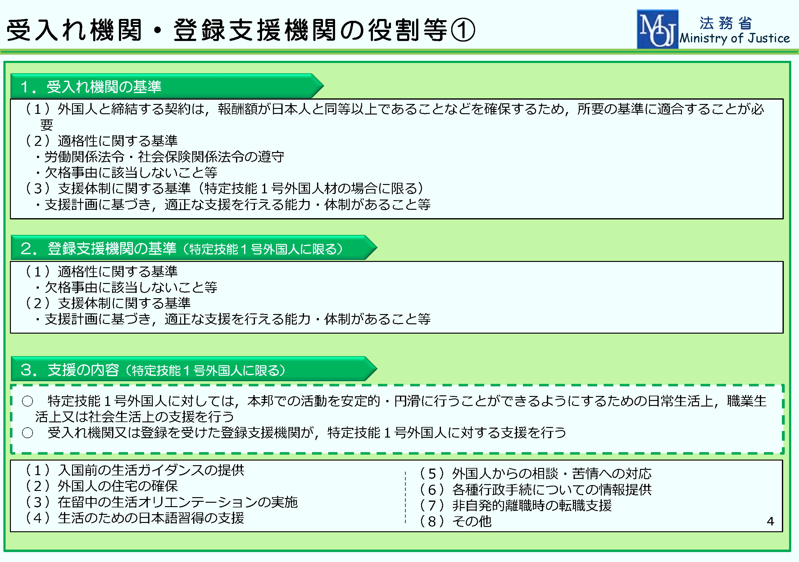 特定技能ビザ(在留資格)資料2-5